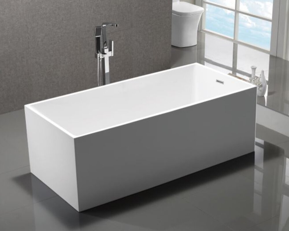 ofuro in wht products true free bathtubs bathtub solid surface freestanding homeclick white wyndham standing aquatica