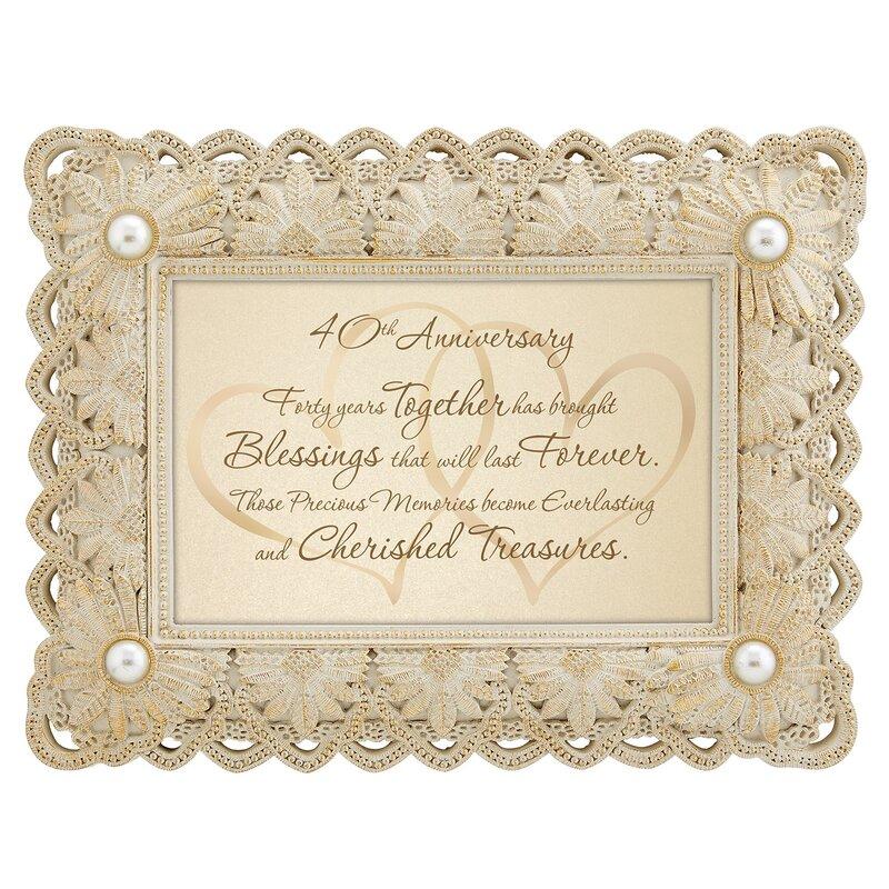 CBGT 40th Anniversary Picture Frame | Wayfair