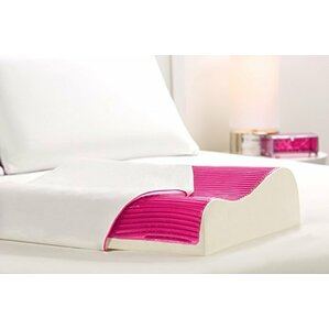 Memory Foam and Gel Fiber Pillow by Luxury Home