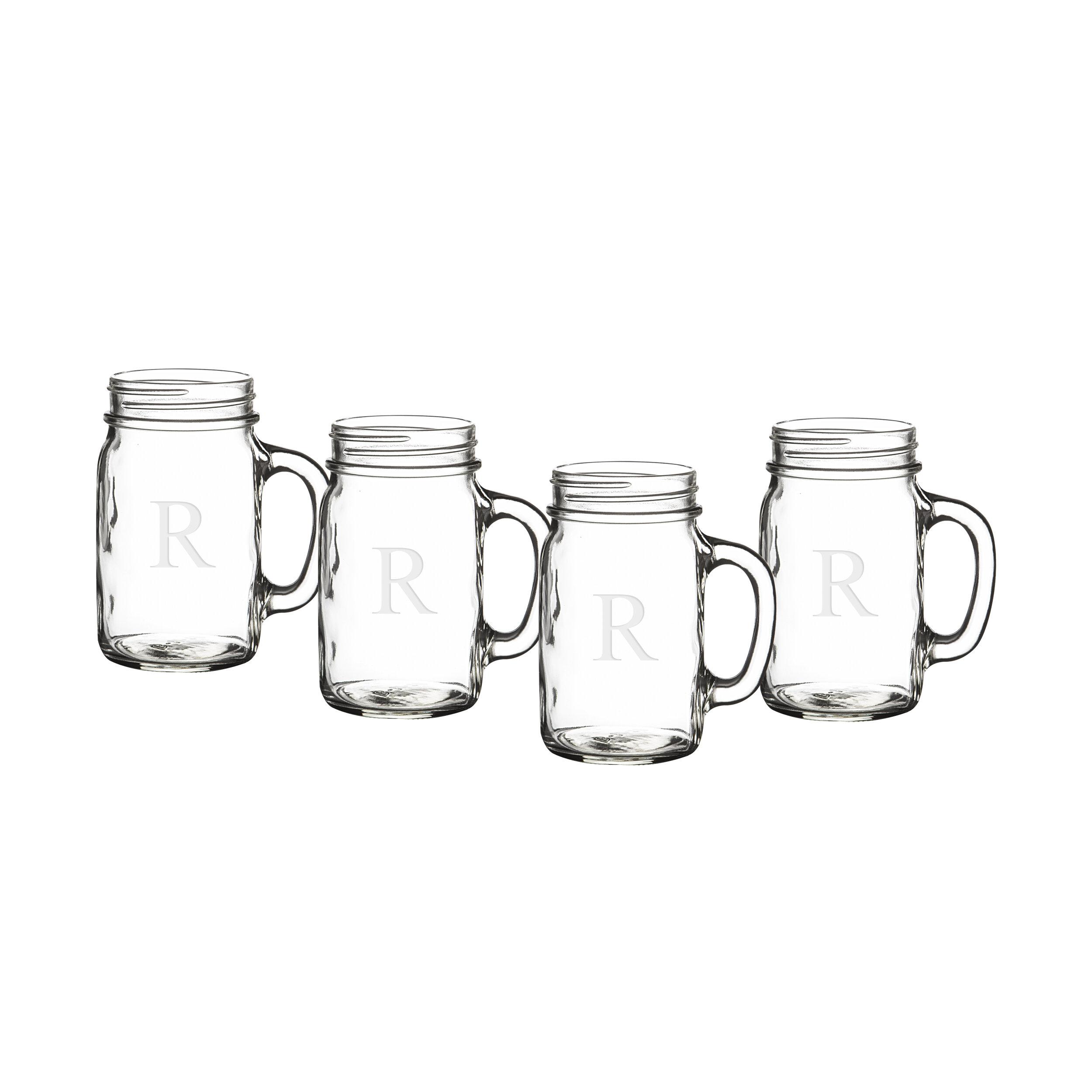 c8f8fa5d8b35 Personalized 17 oz. Glass Mason Jar