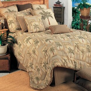 Palm Grove Comforter Set by Karin Maki