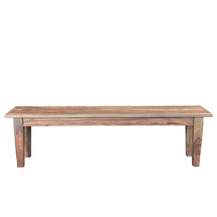 Koch Wood Bench by Union Rustic