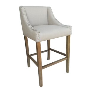 Neihart Contemporary Wood 29.5 Bar Stool