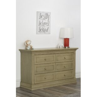 Read Reviews Dakota 6 Drawer Double Dresser By Suite Bebe