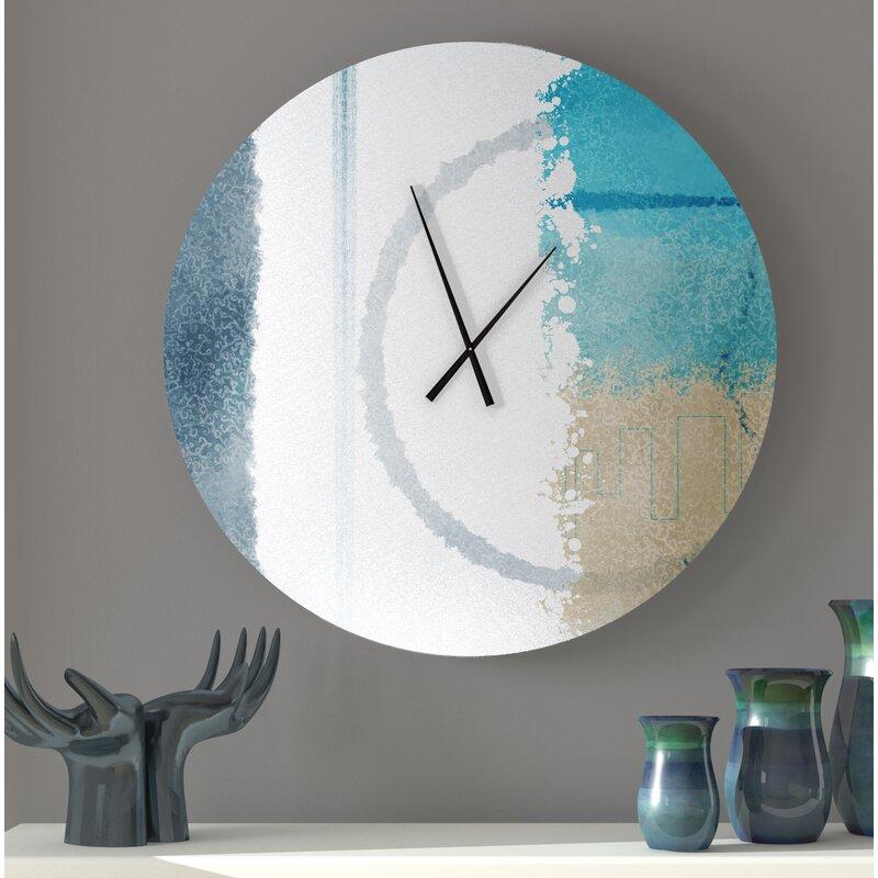Latitude Run Inkster Wall Clock