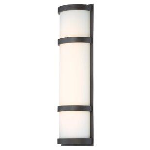 Ebern Designs Ferriera 1-Light LED Outdoor Sconce