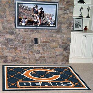 NFL - Chicago Bears 4x6 Rug ByFANMATS