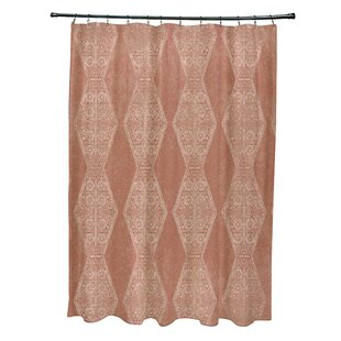 Looking for Soluri Pyramid Print Shower Curtain By Bungalow Rose