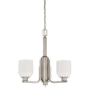 Denney 3-Light Shaded Chandelier by Winston Porter