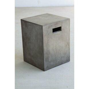 Pompey Concrete Garden Stool by Williston Forge