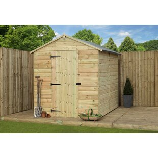 5 Ft. W X 12 Ft. D Shiplap Wooden Shed By WFX Utility