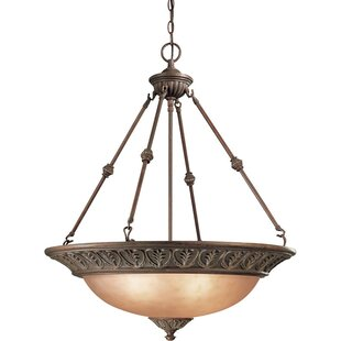 Geneva 3-Light Bowl Pendant by Dolan Designs