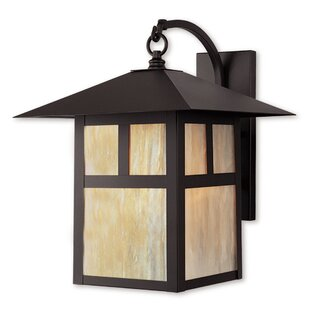 Looking for Giles 1-Light Outdoor Wall Lantern By Alcott Hill