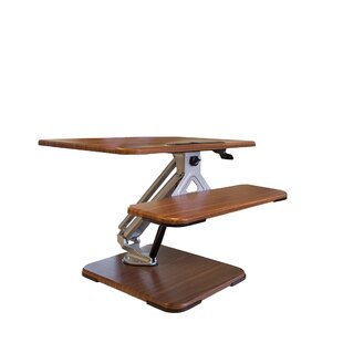 Mosby Ergonomic Height Adjustable Standing Desk Converter by Ebern Designs Modern