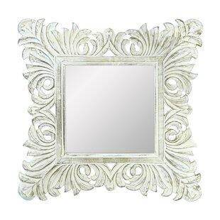 Gracie Oaks Coggrey Wooden Accent Mirror