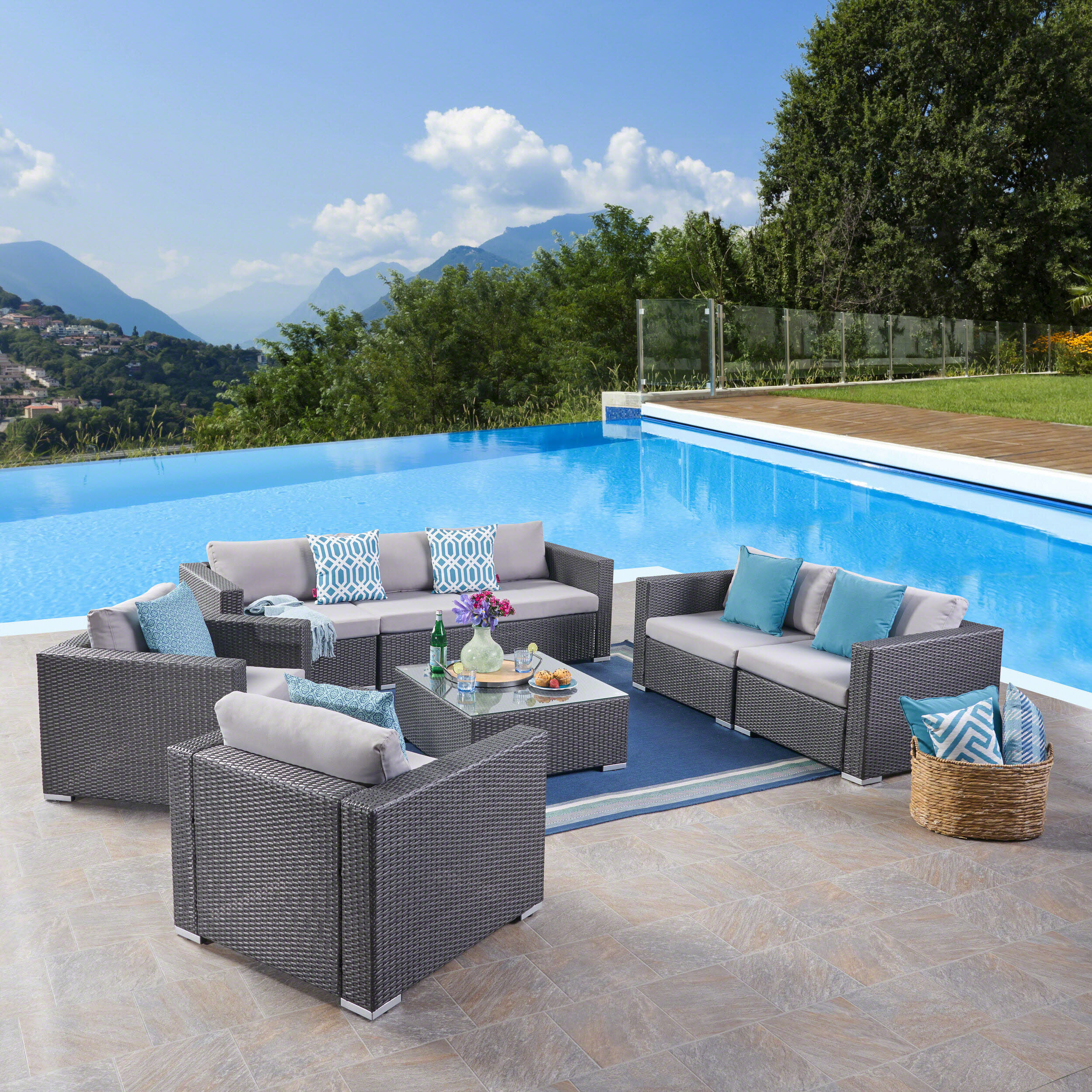 Lounge Deep Seating Silver Patio Conversation Sets You Ll Love In 2021 Wayfair