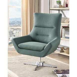 Compare Boerger Swivel Armchair By Ivy Bronx