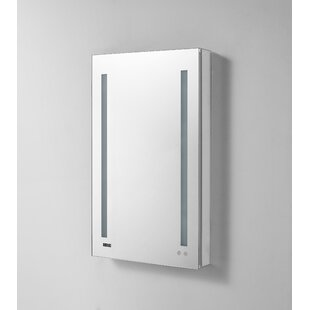 Find the perfect Donnelly 30 x 24 Recessed or Surface Mount Frameless Medicine Cabinet with LED Lighting By Orren Ellis