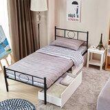 Munjor Platform Bed by Red Barrel Studio®