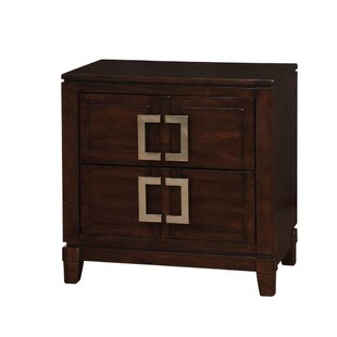 Lamontagne 2 Drawer Nightstand
