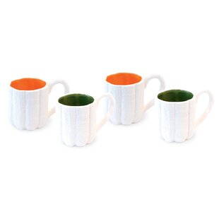 DeMontfort Burlap Coffee Mug (Set of 4)