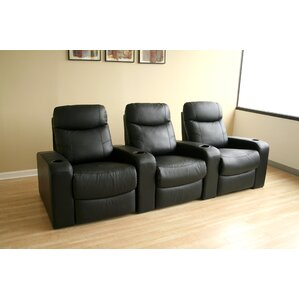 Baxton Studio Home Theater Row Seating (Row of 3) by Wholesale Interiors