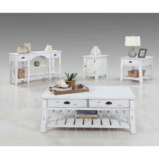 August Grove Pinard 4 Piece Coffee Table Set
