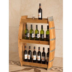 Boaman 24 Bottle Floor Wine Bottle Rack b..