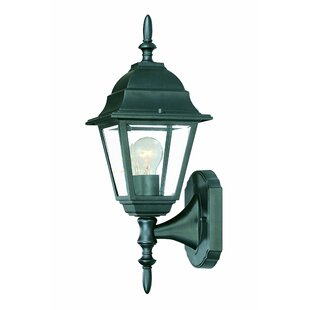 Deals Ledbetter 1-Light Outdoor Cast Aluminium Sconce By Charlton Home