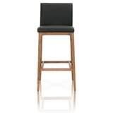 Tristin Wooden Bar Stool by Foundry Select