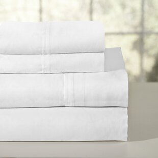 200 Thread Count 100% Soft Cotton Percale Sheet Set By Pointehaven