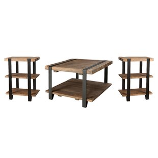 Best Reviews Bosworth 3 Piece Coffee Table Set By Trent Austin Design