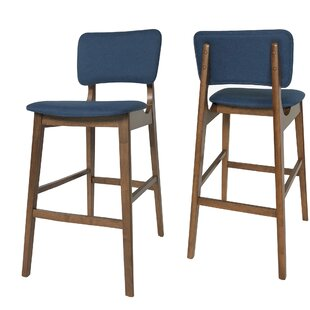 Boger Wooden 30.5 Bar Stool (Set Of 2) by Corrigan Studio Best Design