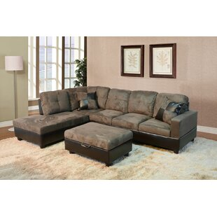 Fava Sectional with Ottoman by Winston Porter
