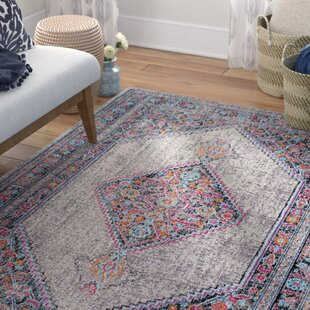 Buy clear Choncey Gray/Black Area Rug By Mistana