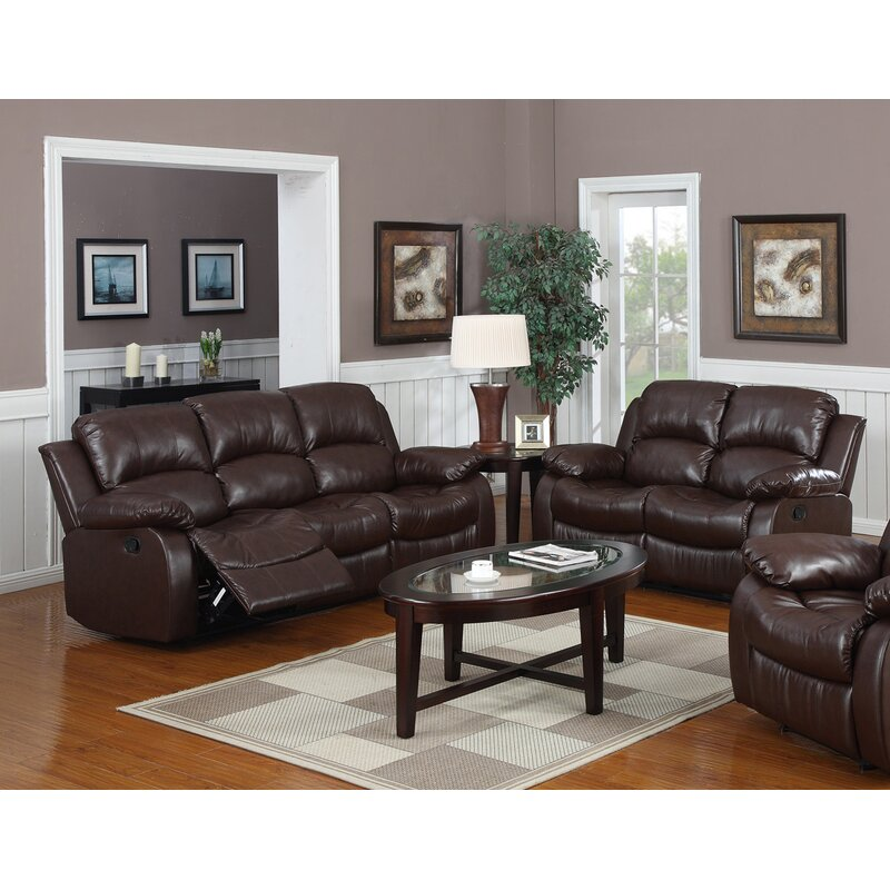 Latitude Run Bryce Reclining 2 Piece Living Room Set