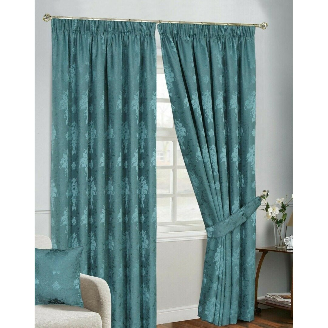 Maywood Pencil Pleat Blackout Thermal Curtains