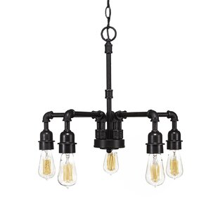 Williston Forge Kash 5-Light Candle Style Chandelier