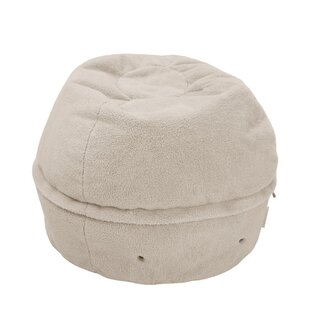 Camila Sherpa Storage Ottoman by Ebern Designs