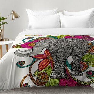 Ruby The Elephant Comforter Set by East Urban Home