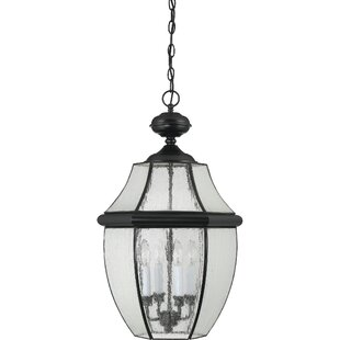 Reviews Mellen 4-Light Incandescent Outdoor Hanging Lantern By Three Posts