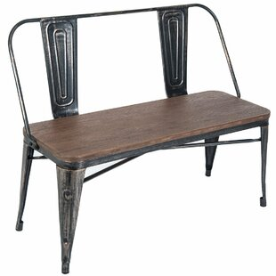 Oldham Metal Bench by Williston Forge