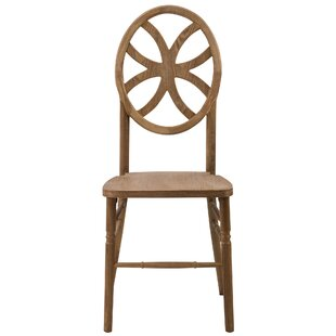Reyna Clover Solid Wood Dining Chair by M..