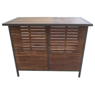 Mercury Row Pulcova Wooden Bar Table