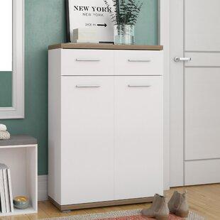 12 Pair Oak Bluffs Shoe Storage Cabinet By Brayden Studio