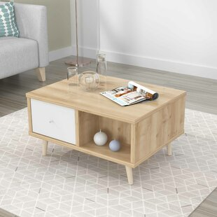 Compare prices Dubuc Coffee Table with Storage By Mack & Milo
