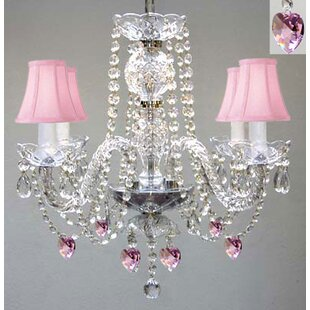Doyon 4-Light Shaded Chandelier by Harriet Bee