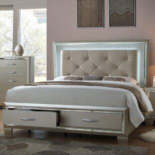 Toth Upholstered Storage Platform Bed