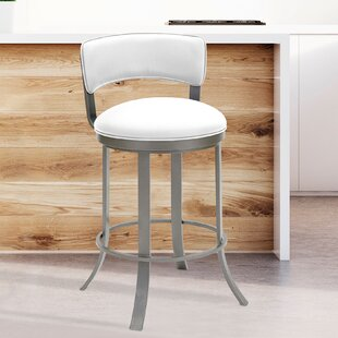 Mcroberts Bar & Counter Swivel Stool by Orren Ellis