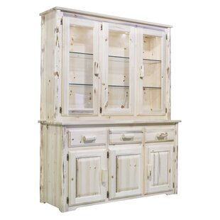 Abordale Lighted China Cabinet Top by Loon Peak